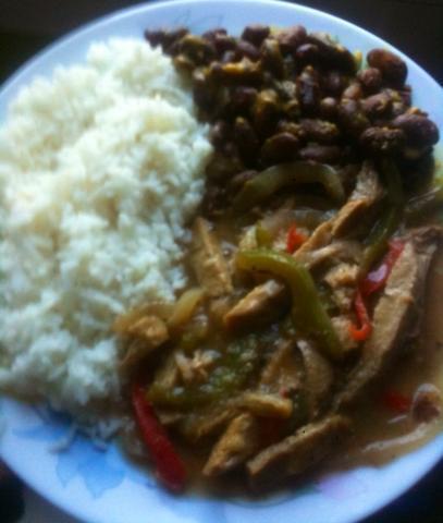 Pabellón criollo vegetariano
