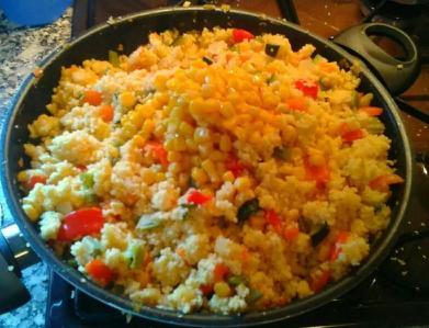 Cuscús con Verduras al Curry