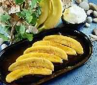 Plátanos al horno