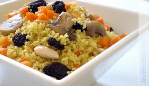 Couscous con frutos secos