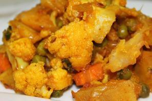 Aloo Gobi - Patatas con coliflor y especias