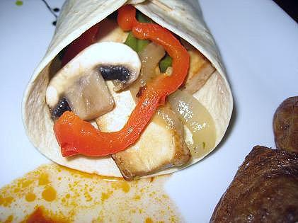 Burritos vegetales