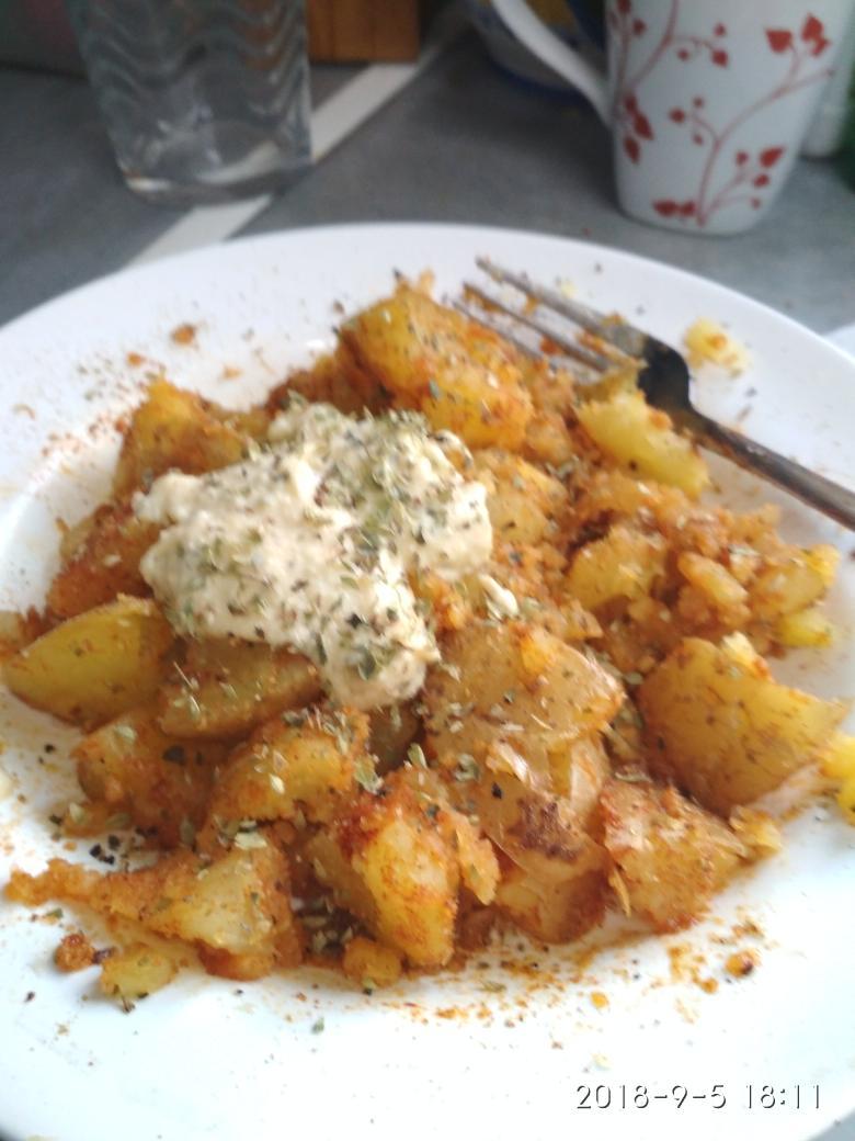 Patatas asadas estilo deluxe
