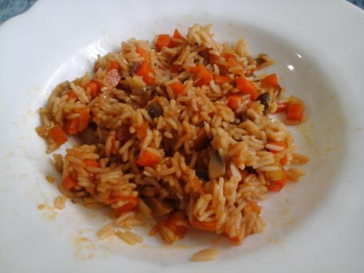 Arroz Basmati con soja