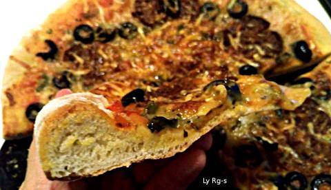 Masa Para Bases De Pizza Esponjosa Como La De Telepizza Y Esos Recetas De Pizzas Vegetarianas Y Veganas