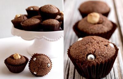 Mini-bizcocho de chocolate para microondas (Hazte Vegetatiano)
