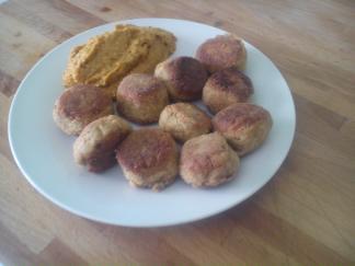 Albóndigas de trigo sarraceno en salsa