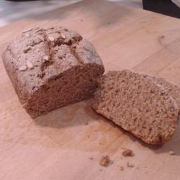 Pan de centeno muy fácil