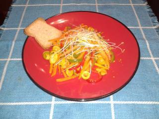 salteadito de verduras