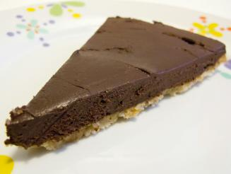 "Tarta ""cruda"" de chocolate"