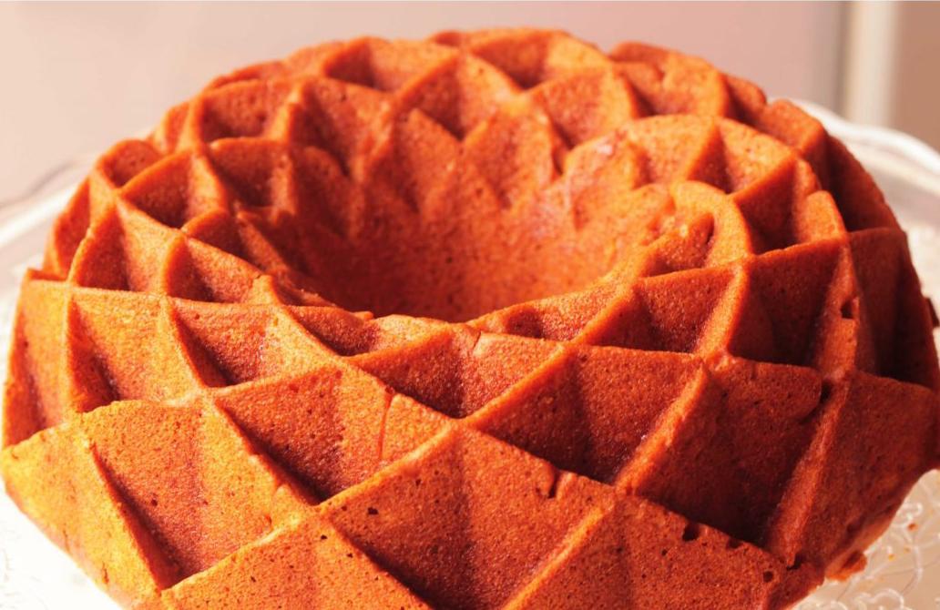 Pastel de calabaza bajo en grasa de Lauri Bennet