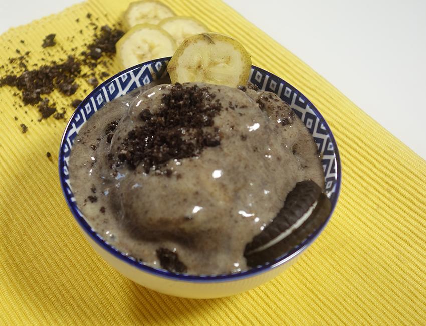 Helado de Yogur de Plátano