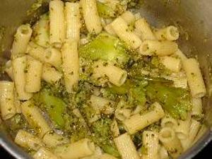 Macarrones con brócoli