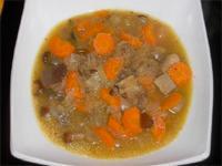 Sopa de amaranto