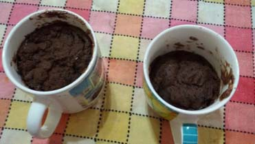 Brownie a la taza