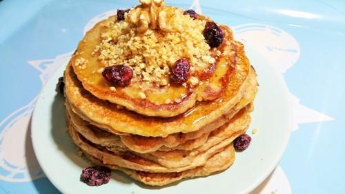 Tortitas de avena y plátano receta mejorada