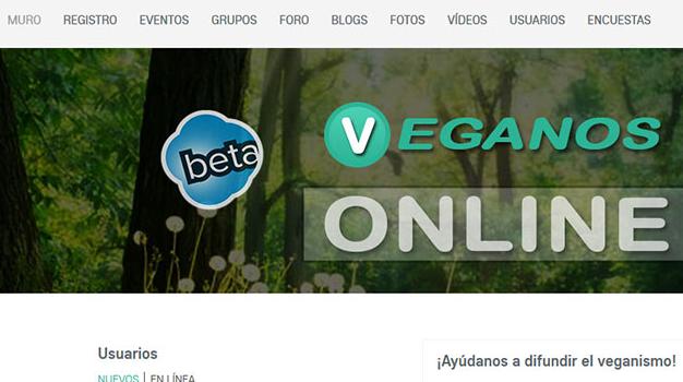 Nueva red social para veganos - veganosonline.com